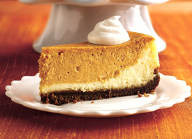 This is not my cheesecake.  Close enough though!  Photo credit: http://www.tablespoon.com/